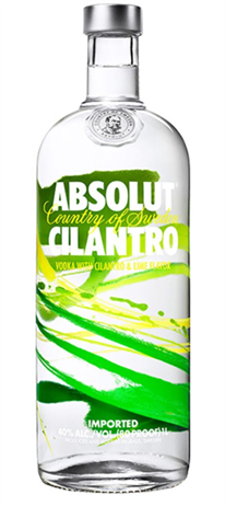 Absolut Vodka Cilantro